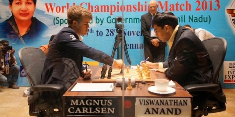 Παγκόσμιο Πρωτάθλημα Σκάκι Τσενάι Ινδία 2013