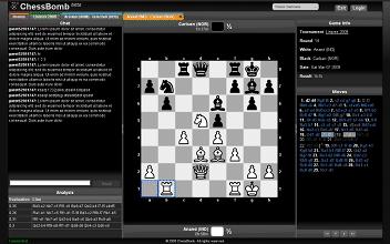 ζωντανές παρτίδες chessbomb