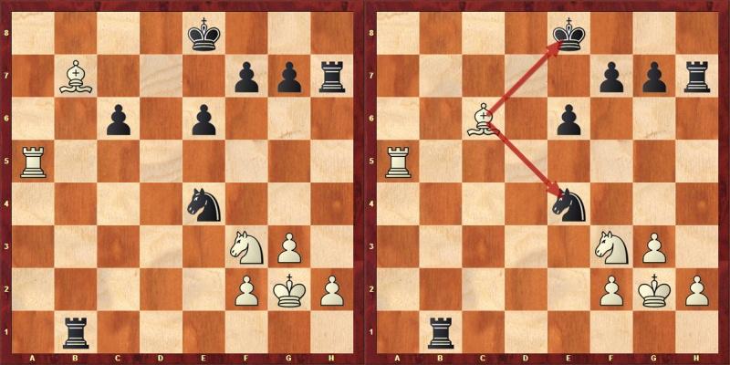 μαθήματα σκάκι διπλή απειλή
