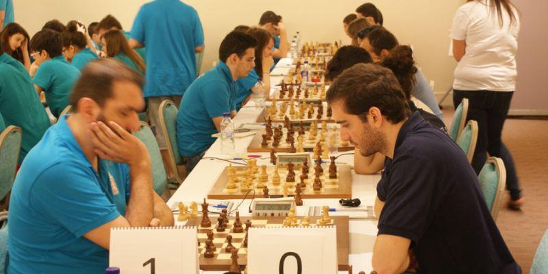 Α Εθνική 2014 σκάκι 2ος γύρος