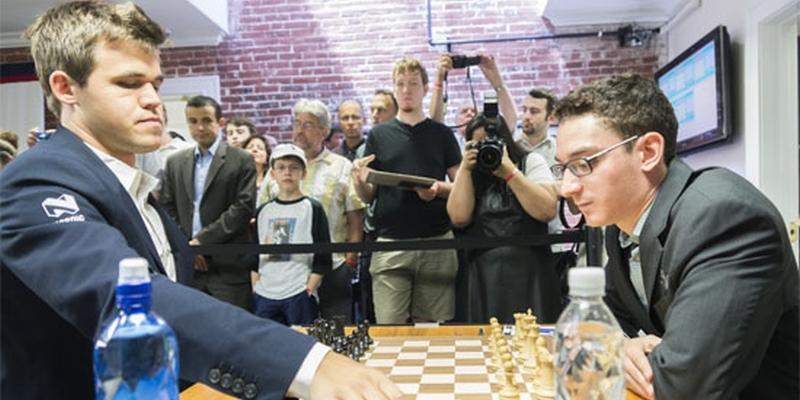 carlsen vs caruana σκάκι